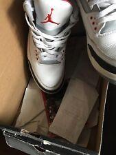 "Air Jordan 3 Retro ""Fire Red"" Size 13 2007"