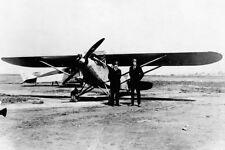 CHARLES LINDBERGH & RYAN AIRLINES M-1 12x18 SILVER HALIDE PHOTO PRINT