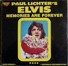 Paul Lichter's Elvis Memories Are Forever (Sealed)