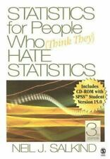 Statistics for People Who (Think They) Hate Statistics Salkind, Neil J. Paperba