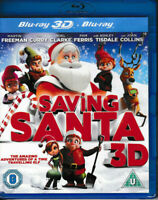 Saving Santa - 3D Blu Ray - Brand New & Sealed