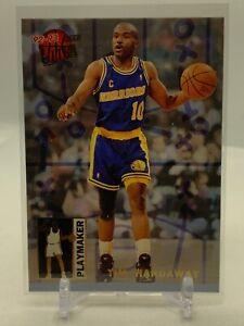 TIM HARDAWAY - 1992-93 FLEER ULTRA BASKETBALL - PLAYMAKER INSERT - #3
