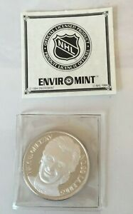 WAYNE GRETZKY KINGS 1 oz. Silver medallion COIN ENVIROMINT 6176/25000