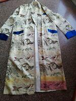 Splendido Kimono Giapponese Vintage Cerimonia Seta.