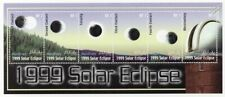 The Sun - SOLAR ECLIPSE Space Stamp Sheet #2 (1999 Maldives)