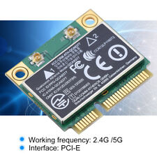 Doble Banda 2.4GHz/5GHz Inalámbrico Tarjeta de Red WiFi 433Mbps Mini PCI-E Card