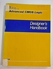 Texas Instruments Advanced Cmos Logic Designer's Handbook 1988 Scaa001A
