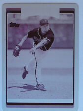 1/1 Mike Hampton 2006 Topps Printing Press Plate #369 Atlanta Braves 1 of 1
