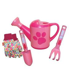 Kids Gardening Tools Set PAW PATROL Watering Can Gloves Toddler Girl Outdoor New