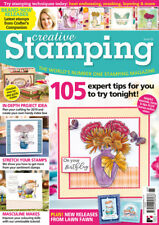 Creative Stamping Magazine 65 with 12 Months of Flowers Stamps