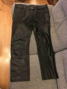 Leather Jeans (Expectations) Rear Zip (36 Waist / 31 Inside Leg) GAY INTEREST