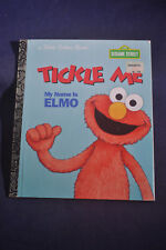 1997 *NEAR MINT* Tickle Me My Name Is Elmo - Little Golden Book