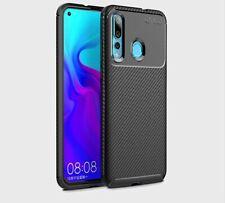 Handyhülle elegant Carbonoptik Huawei Nova 4 TPU Schwarz