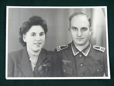 WW II German Couple - vintage photo