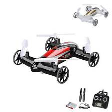 4.5 Kanal 2.4GHz RC ferngesteuerte Drohne mit Fahrfunktion, Quadcopter, Heli,Neu