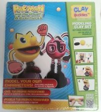 PAC-MAN - New & Sealed Pac-Man & The Ghostly Adventures Clay Buddies Model Kit