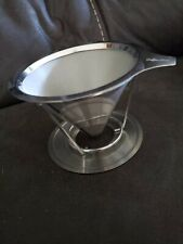 New Stainless Steel Coffee Filter, Reusable Pour