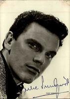 Autogrammkarte Autograph handsigniert Folke Sundquist Schauspieler Schweden