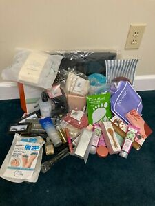 Lot of 40 Makeup and Beauty Products Dr Brandt, Lancome, Tarte