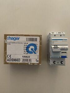 Hager ADS966D FILS 16A 30mA C16 Leitungsschutz Neu