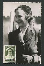 BELGIEN MK 1953 PRINCESS ROTES KREUZ MAXIMUMKARTE CARTE MAXIMUM CARD MC CM c9926