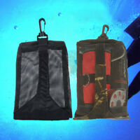 Mesh Pouch Gear Snorkeling Bag & Clip For Scuba Diving Underwater Beach Picking