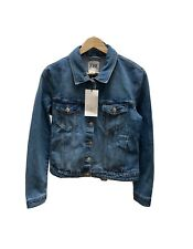 BNWT Zara TRF Blue Denim Jacket Large UK 14