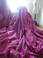 PIERRE FREY CURTAINS maison de maître FRENCH BAROQUE CHIC DAMASK interlined HUGE