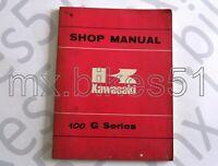 99997-713 Manuel d'atelier en Anglais KAWASAKI 100 G 1974