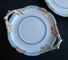 Antique English bone china under plate Kerr & Binns 1850s, pre Royal Worcester