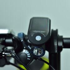 LED USB Fahrradlicht Scheinwerfer Solar Energy Fahrrad Frontleuchte Wasserdicht