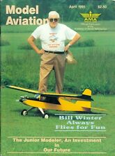 1991 Model Aviation Magazine: Bill Winter Flies for Fun/Junior Modeler