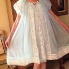 Vintage Peignoir Nightgown Set - Miss Elaine - Medium - Never Worn
