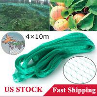 4x10M Anti Bird Bird Prevent Net Mesh Screen for Fruit Crop Plant Garden Yard