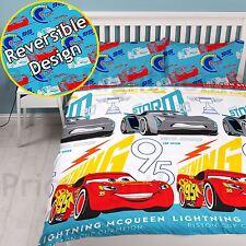 Official Disney Cars 3 Lightning Double Duvet Cover and Pillowcase Set
