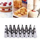 23PCS Russian Icing Piping Nozzles Pastry Tips Cake Decorating Sugarcraft Tool #