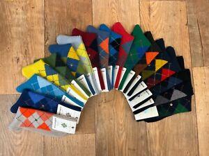 Burlington Mens Preston Argyle Socks