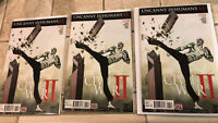 Marvel Uncanny Inhumans #11 Civil War II First Mosiac Lot Of 3 Comics