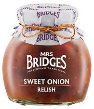 Mrs Bridges Sweet Onion Relish 300g - Made in Scotland