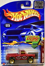HOT WHEELS 2002 POWER PLOWER #058 RED FACTORY SEALED