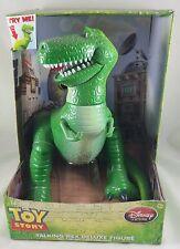 "Disney Store Toy Story T Rex Dinosaur Talking Action Figure 12"" 11 Phrases"