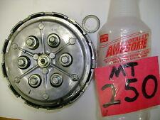1976 74 75 76 HONDA MT250 MT 250 COMPLETE CLUTCH HUB BASKET DISKS DISK