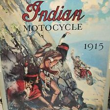 INDIAN MOTOCYCLE COLOR POSTER
