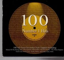 (DX364) 100 Number 1 Hits - 2001 4 CD Boxset