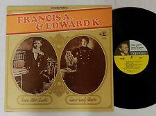 "FRANK SINATRA "" FRANICS A & EDWARD K ""  STEREO REPRISE RECORD ALBUM  LP"