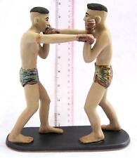 NiCe! Porcelain Muay Thai Boxing Figures Straight Punch 100% HANDMADE