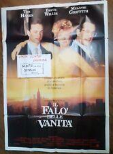 FILM IL FALO' DELLE VANITA' ANNI 90 - MANIFESTO ORIGINALE ( 100 X 140  )  N.7