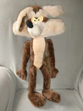 "Ace Novelty Co Stuffed Plush Looney Tunes Wile E Coyote Big Huge Large 27"" Toy"