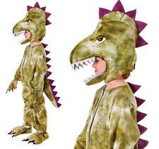 Childrens Dinosaur Fancy Dress Costume Halloween Boys Childs Kids Outfit L