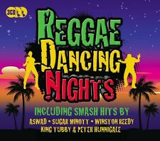 3 CD BOX REGGAE DANCING NIGHTS ASWAD SUGAR MINOTT KING TUBBY DENNIS BROWN REEDY